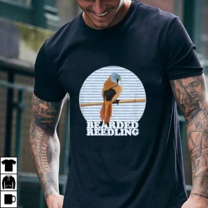 Bearded Reedling Bird Birdlover Birdwatcher Animal Biologist T Shirt