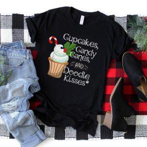 Doodle Christmas Gift Aussiedoodle Bordoodle Sheepadoodle T Shirt
