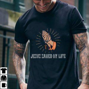 God Jesus Saved my Live Cross Religious T Shirt