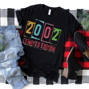 Birthday Limited Edition 2002 Grunge 19th Birthday T Shirt