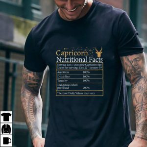 Capricorn Nutrition Astrology Zodiac Sign Horoscope women T Shirt