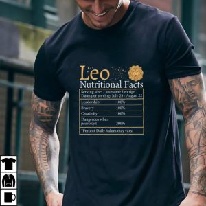 Leo Nutrition Astrology Zodiac Sign Horoscope women men T Shirt