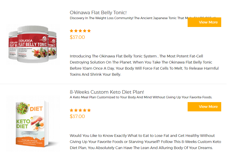Diets & Weight Loss Products